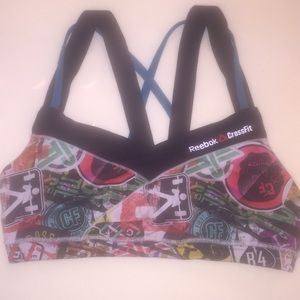 Reebok Crossfit Sports Bra - Size Medium